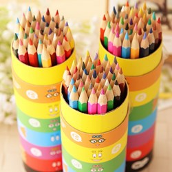 صورة Colored Pencil Stationery